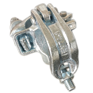 Drop Forged Scaffolding Clamp Coupler Sudut Kanan Ganda